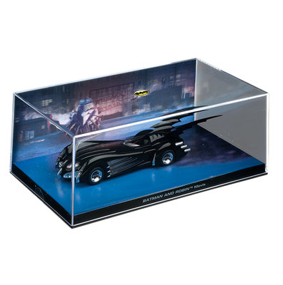 Eaglemoss model - DC Batman Automobilia Collection Batman and Robin 16 Batmobile