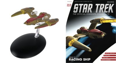 Eaglemoss model - Star Trek The Official Starships Collection 133 Irina's Racing Ship