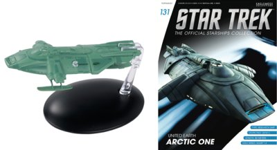 Eaglemoss model - Star Trek The Official Starships Collection 131 United Earth Artic One