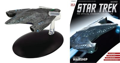 Eaglemoss model - Star Trek The Official Starships Collection 153 Devore Warship