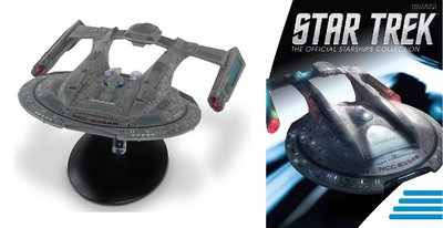 Eaglemoss model - Star Trek The Official Starships Collection XL Edition XL12 USS Thunderchild Akira Class NCC-63549