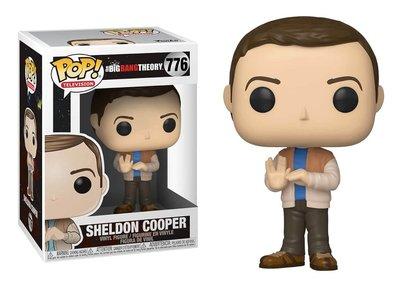 Funko Pop! Vinyl figuur - Comedy The Big Bang Theory 776 Sheldon Cooper