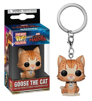 Funko Pocket Pop! Keychain - Marvel Captain Marvel sleutelhanger Goose the Cat