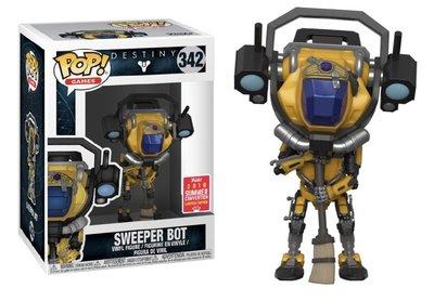 Funko Pop! Vinyl figuur - Games Destiny 342 Sweeper Bot Funko Convention Exclusive