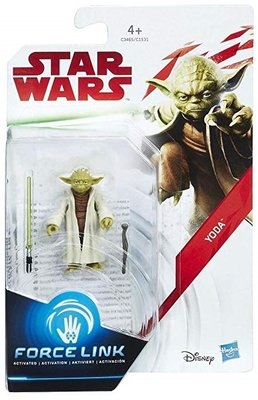 Hasbro actiefiguur - Star Wars The Last Jedi Force Link C1531/C3465 Yoda
