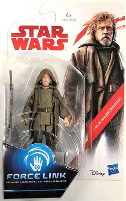 Hasbro actiefiguur - Star Wars The Last Jedi Force Link C1503/C3525 Luke Skywalker Jedi Exile