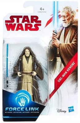 Hasbro actiefiguur - Star Wars The Last Jedi Force Link C1531/C3464 Obi-Wan Kenobi