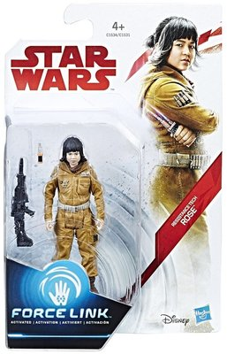 Hasbro actiefiguur - Star Wars The Last Jedi Force Link C1531/C1534 Rose Resistance Tech