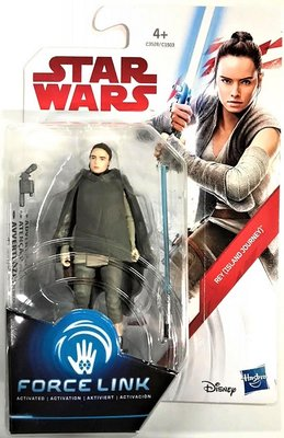 Hasbro actiefiguur - Star Wars The Last Jedi Force Link C1503/C3528 Rey Island Journey