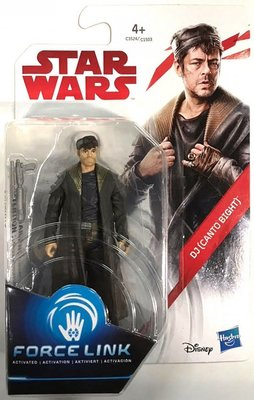 Hasbro actiefiguur - Star Wars The Last Jedi Force Link C1503/C3524 DJ (Canto Bight)