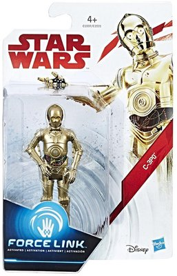 Hasbro actiefiguur - Star Wars The Last Jedi Force Link C1531/C1537 C-3PO