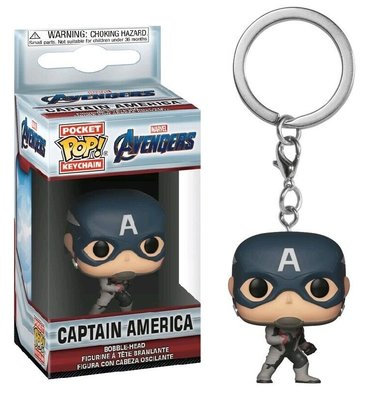 Funko Pocket Pop! Keychain - Marvel Avengers Endgame Captain America