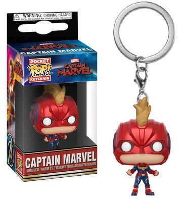Funko Pocket Pop! Keychain - Marvel Captain Marvel Captain Marvel Masked