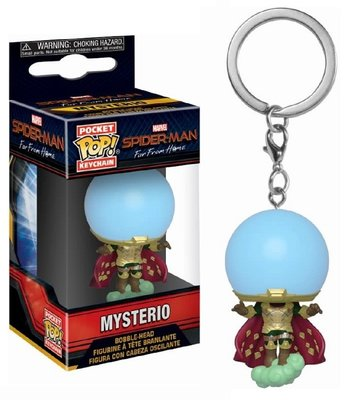 Funko Pocket Pop! Keychain - Marvel Spider-man Far From Home Mysterio