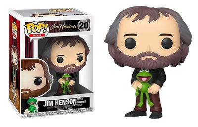 Funko Pop! Vinyl figuur - Comedy Muppets 20 Jim Henson with Kermit