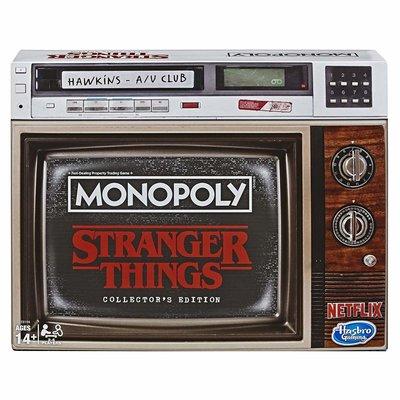 Hasbro Bordspel - Games Monopoly Collectors Edition E8194 Stranger Things