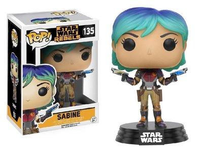 Funko Pop! Vinyl figuur - Star Wars Rebels 135 Sabine