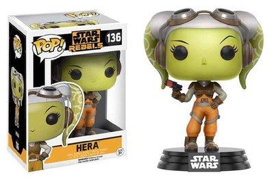 Funko Pop! Vinyl figuur - Star Wars Rebels 136 Hera