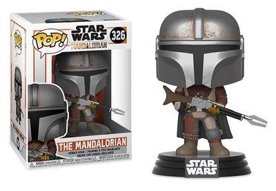 Funko Pop! Vinyl figuur - Star Wars The Mandalorian 326 The Mandalorian