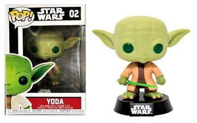 Funko Pop! Vinyl figuur - Star Wars The Empire Strikes Back 02 Yoda (groene ogen)
