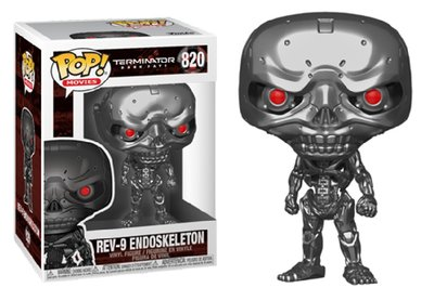 Funko Pop! Vinyl Figure - Scifi Terminator 820 Rev-9 Endoskeleton