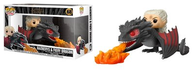 Funko Pop! Vinyl figuur - Fantasy Game of Thrones 68 Daenerys Targaryen and Fiery Drogon