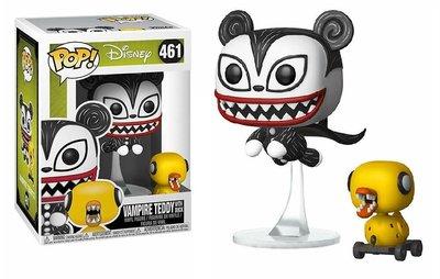 Funko Pop! Vinyl figuur - Disney The Nightmare Before Christmas 461 Vampire Teddy with Duck