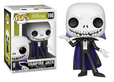 Funko Pop! Vinyl figuur - Disney The Nightmare Before Christmas 598 Vampire Jack