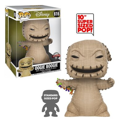 Funko Pop! Vinyl figuur - Disney The Nightmare Before Christmas 10 inch 616 Oogie Boogie Special Edition
