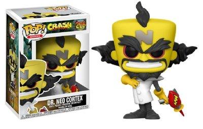Funko Pop! Vinyl figuur - Games Crash Bandicoot 276 Dr. Neo Cortex