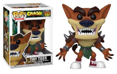 Funko Pop! Vinyl figuur - Games Crash Bandicoot 533 Tiny Tiger
