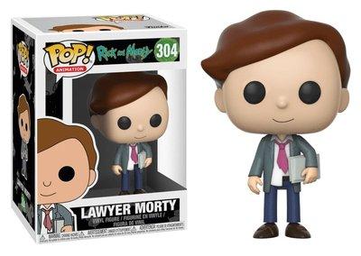 Funko Pop! Vinyl figuur - Animatie Rick and Morty 304 Lawyer Morty