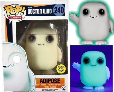 Funko POP! TV 240 Doctor Who Adipose Glows in the Dark