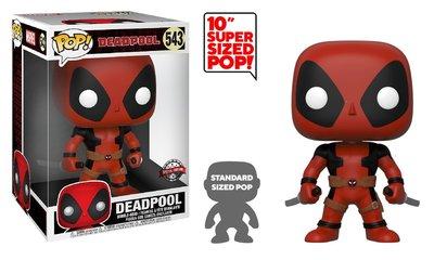Funko Pop! Vinyl figuur - Marvel Deadpool 10 inch 543 Deadpool with Swords Special Edition