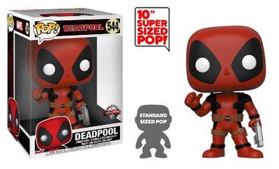 Funko Pop! Vinyl figuur - Marvel Deadpool 10 inch 544 Deadpool Thumb Up Special Edition