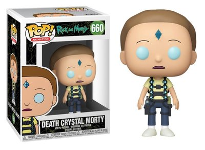 Funko Pop! Vinyl figuur - Animatie Rick and Morty 660 Death Crystal Morty