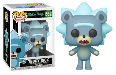 Funko Pop! Vinyl figuur - Animatie Rick and Morty 662 Teddy Rick