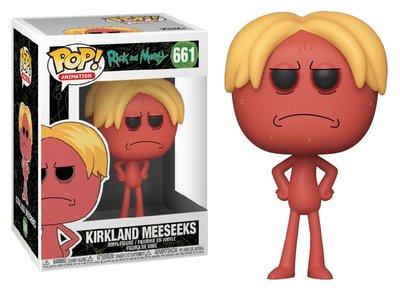Funko Pop! Vinyl figuur - Animatie Rick and Morty 661 Kirkland Meeseeks