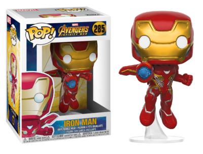 Funko Pop! Vinyl figuur - Marvel Avengers Infinity War 285 Iron Man