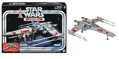Hasbro model - Star Wars Vintage Collection E6137 X-Wing Fighter Luke Skywalker's