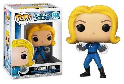 Funko Pop! Vinyl Figure - Marvel Fantastic Four 558 Invisible Girl