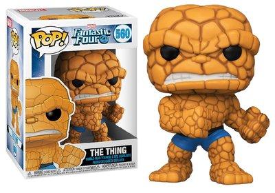 Funko Pop! Vinyl Figure - Marvel Fantastic Four 560 The Thing