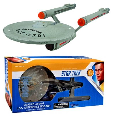Diamond Select Toys Model - Star Trek The Original Series HD Version 17804 USS Enterprise NCC-1701