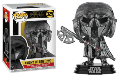 Funko Pop! Vinyl figuur - Star Wars The Rise of Skywalker 325 Knight Of Ren - Chrome Long Axe