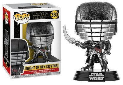 Funko Pop! Vinyl figuur - Star Wars The Rise of Skywalker 333 Knight Of Ren - Chrome Scythe
