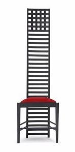 Mini Designer Chairs: kinderstoel zwart/rood