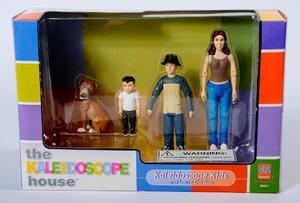 The Kaleidoscope House - Familie - Kinderen en Louie de hond