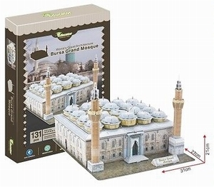 3D Puzzel: Bursa Grand Mosque (Educator)