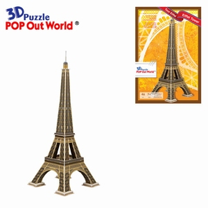3D Puzzel: Eiffel Tower