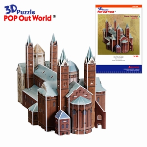 3D Puzzel: Speyer cathedral